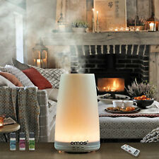 Large Ultrasonic Aroma Diffuser Humidifier Essential Oil Aromatherapy LED Lamp