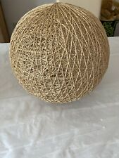 Rattan Wicker Ceiling Lamp Pendant