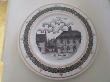 HELMSLEY THE TOWN HALL  Plate Ltd Edition Plate No 26 Gerald Swan Decor Art 1995