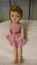 "Antique Walker Doll Hard Plastic, 17"" O/C Eyes, Open Mouth"