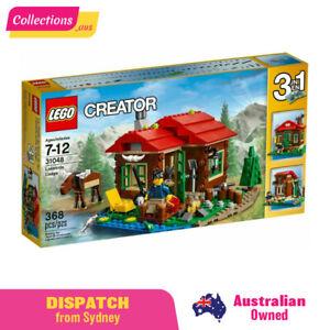 GENUINE LEGO Creator - Lakeside Lodge - 31048 - Fast FREE Shipping from Sydney!!
