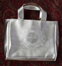 """VS Victoria's Secret Shiny Gold Cosmetic Bag / Purse / Handbag 11"""" X 8"""""""