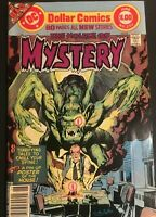 THE HOUSE OF MYSTERY. 252. 80 PAGE GIANT. NEAL ADAMS COVER. 1977 BRONZE AGE..