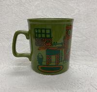 Vintage 1970s Staffordshire Potteries Ltd England Tea Cup Coffee Mug Kitchen
