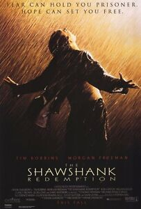 """THE SHAWSHANK REDEMPTION Movie Poster [Licensed-NEW-USA] 27x40"""" Theater Size"""