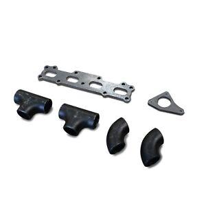 DaveFab MX5 Miata 1.6 Subaru TD04 05 VF Log Turbo Manifold Fabrication Kit DIY