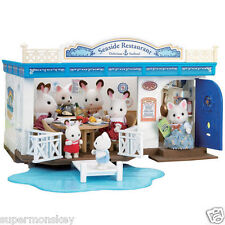 SYLVANIAN FAMILIES MI -72 NICE SHOP / BEAUTIFUL SEASIDE RESTAURANT EP05213