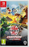 Bakugan Champions Of Vestroia Nintendo Switch Game