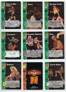 WCW NITRO Wrestling TCG Trading card game singles,Common,Uncommon,Rare & Ultra R