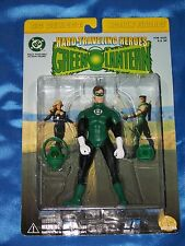 "GREEN LANTERN: 6.5"" Poseable Figure w/Ring, Hard-Traveling Heroes DC DIRECT NEW"