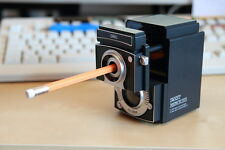 Deli Camera retro adjustrable pencil sharpener BLACK