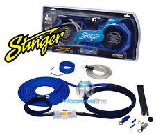 SK6241 STINGER 4 GAUGE GA 6000 AMP WIRE POWER AMPLIFIER INSTALLATION KIT SK-6241