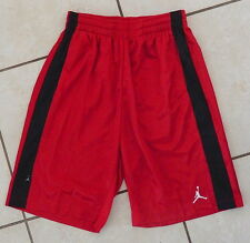 MEN'S NIKE AIR JORDAN MVP DURASHEEN SHORTS GYM RED-BLACK SZ S [427342-696]