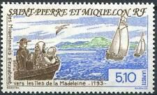 SAINT PIERRE ET MIQUELON N°579** BATEAU VOILIER BOAT TB, 1993 SPM MNH