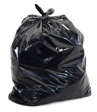 Black 42 - 46 Gallon Trash Bag 1.2 Mil 100 Bags Per Case NEW