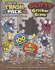 Trash Pack Slimy Sticker Scene book more than 100 stickers