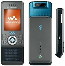 SONY ERICSSON W580i SLIDE MOBILE PHONE-UNLOCKED WITH NEW CHARGAR AND WARRANTY