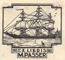 Ex Libris Johan Briedé, 1937: Opus 88, M. Passer