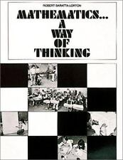 Mathematics... A Way of Thinking