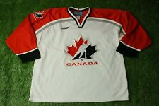 CANADA NATIONAL TEAM RARE ICE HOCKEY SHIRT JERSEY MAGLIA TRIKOT BAUER ORIGINAL