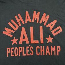 Under Armour x Roots Of Fight Muhammad Ali People's Champ Black T Shirt Medium