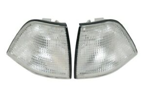 fit 92-98 BMW E36 3-Series 2D Coupe Clear Corner Park Signal Lights DEPO PAIR