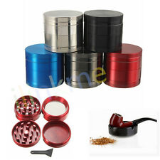 40mm 4 Part Handle Herb Tobacco Spice Weed Grass Muller Mill Grinder Crusher
