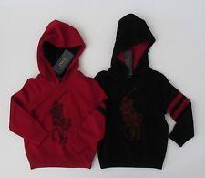NWT Ralph Lauren Polo LS Merino Wool Hooded Big Pony Sweater 2t 3t 4t NEW $115