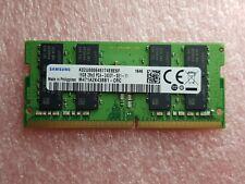1x 16GB DDR4 2Rx8 2400MHz PC4 19200 SAMSUNG RAM LAPTOP SODIMM M471A2K43BB1-CRC
