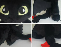 """How to Train Your Dragon Plush Toothless Night Fury Soft Toy Doll Teddy 12""""!!!"""