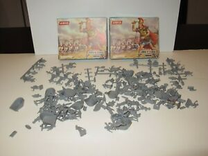 ORIG1960s  AIRFIX ROMANS  HO OO 1/72 2 BOXES LOTS OF FIGURES
