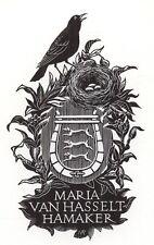 Ex Libris Mia Pot : Opus 84, Maria van Hasselt-Hamaker
