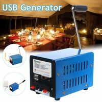 High Power USB Hand Crank Generator For Emergency Outdoor Portable Generator