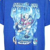 New York Rangers Stanley Cup T Shirt Vintage 90s 1994 Champions Made In USA XL