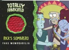 Rick & Morty Season 2 Totally Fabricated Chase Card TF09 Rick's Sombrero