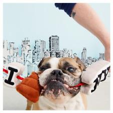 """Bark New York City """"I Luv NY""""  Squeaky Plush toy"""