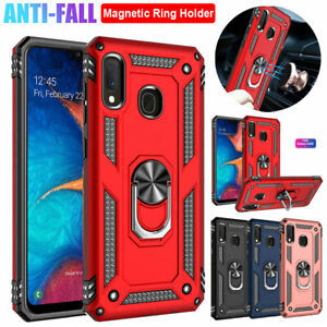 For Samsung Galaxy A20 A50 A70 A40 A30 A10 A10e Case Shockproof Armor Ring Cover