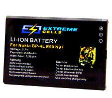 Extremecells batteria per Nokia e63 bp-4l Batteria Batteria
