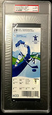 2010 VANCOUVER OLYMPICS HOCKEY CANADA GOLD MEDAL GAME TICKET PSA/DNA SLABBED