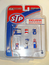 GREENLIGHT 1:64 GL MUSCLE STP EXCLUSIVE SHOPTOOL MULTIPACK DIORAMA SET