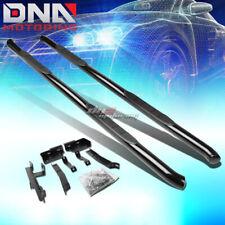 "FOR 10-16 EQUINOX/TERRAIN SUV BLACK STEEL 3""SIDE STEP NERF BAR RUNNING BOARD KIT"