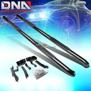 "FOR 10-17 EQUINOX/TERRAIN SUV BLACK STEEL 3""SIDE STEP NERF BAR RUNNING BOARD KIT"