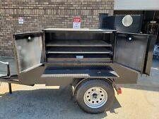 Backyarder Pro Bbq Smoker Storage Trailer Food Truck Mobile Kitchen Business