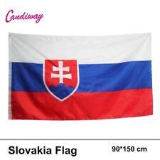 SLOVAKIA SLOVAKIAN FLAG  3 x 2 BRAND NEW EYELETS