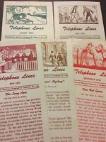 Vintage Telephone Lines 1952-1956 Maritime Telegraph & Telephone Co. Papers E90