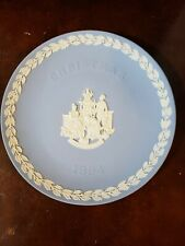 "Wedgwood 1994 Christmas Plate Nib 8 5/8"" Across   Signed"