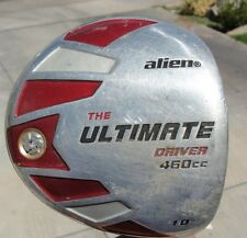 USED Alien The Ultimate 460cc 10 degrees Golf Driver Right Handed Gender unknown