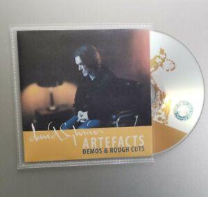 David Sylvian Artifacts: Demos and Rough Cuts CD - 13 Rarities - Japan