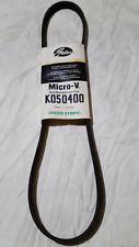 K050400 Gates Micro-V Belt Serpentine Rubber 072053008715 18mm x 1030 mm