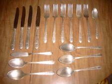 International Silver Wm Rogers flatware lot 17 pieces-- REGENT pattern 1939?